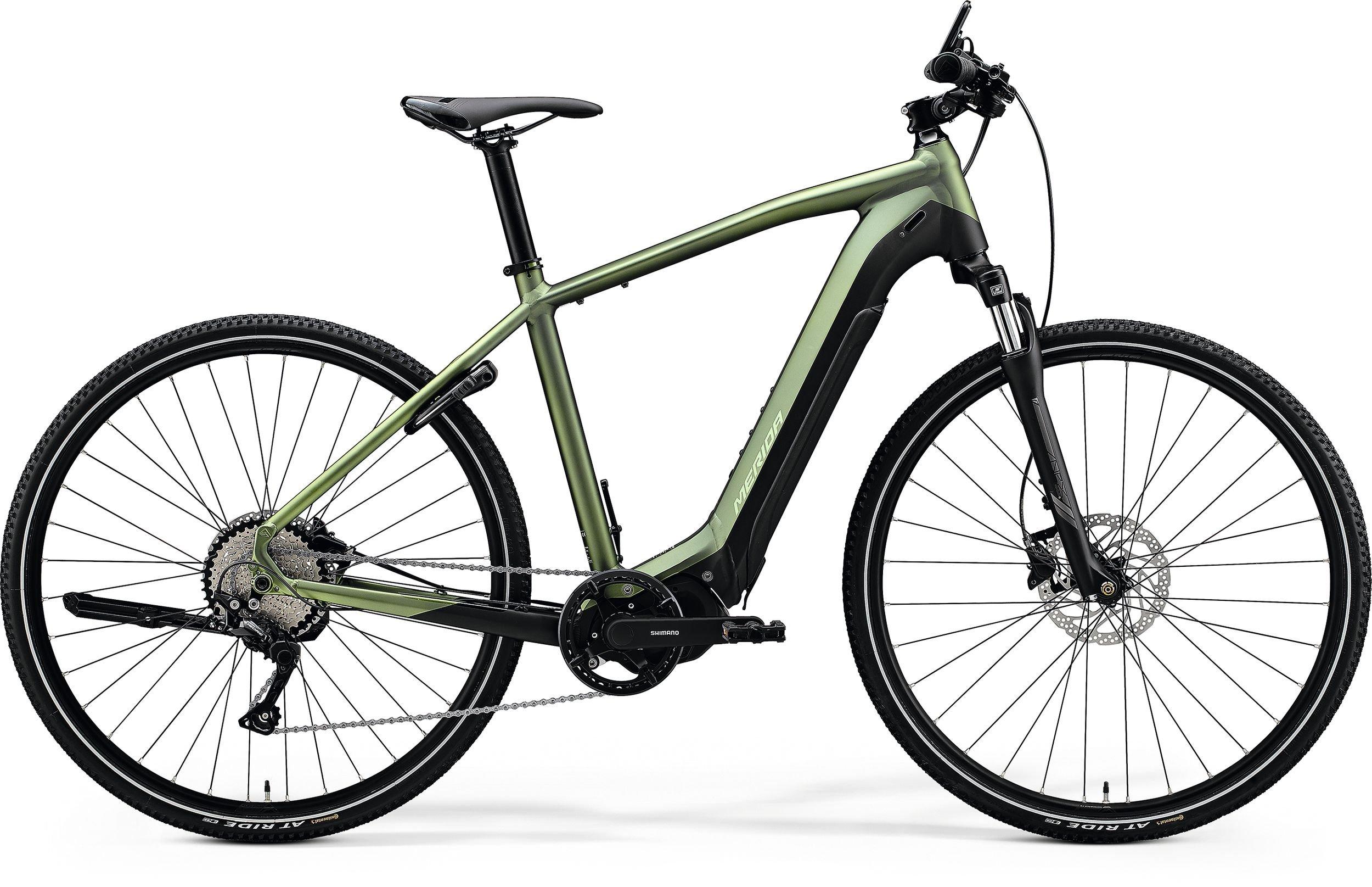 Merida eSPRESSO 400 zelené/černé (180-190 cm)