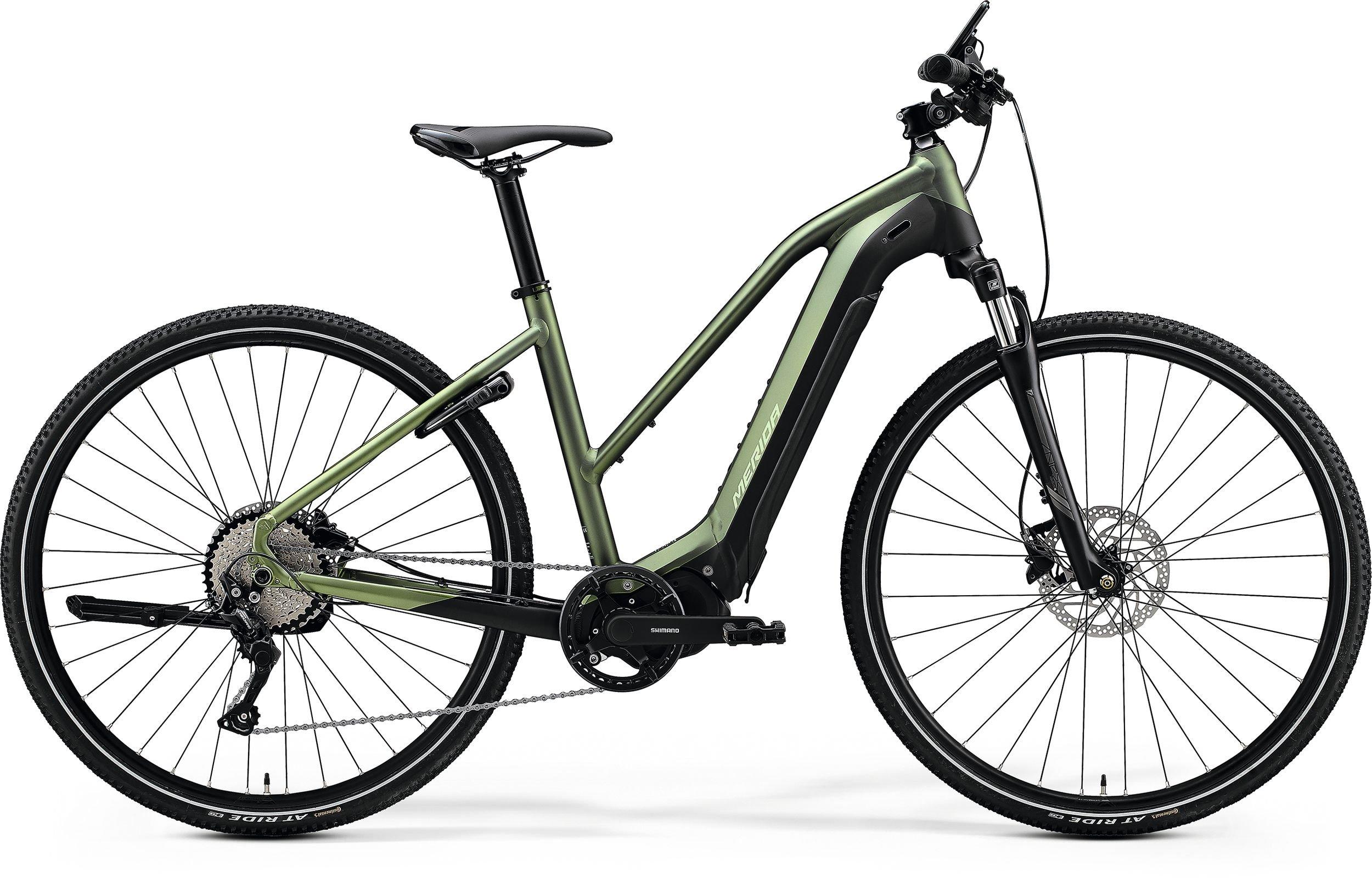 Merida eSPRESSO 400-L zelené/černé (165-180 cm)