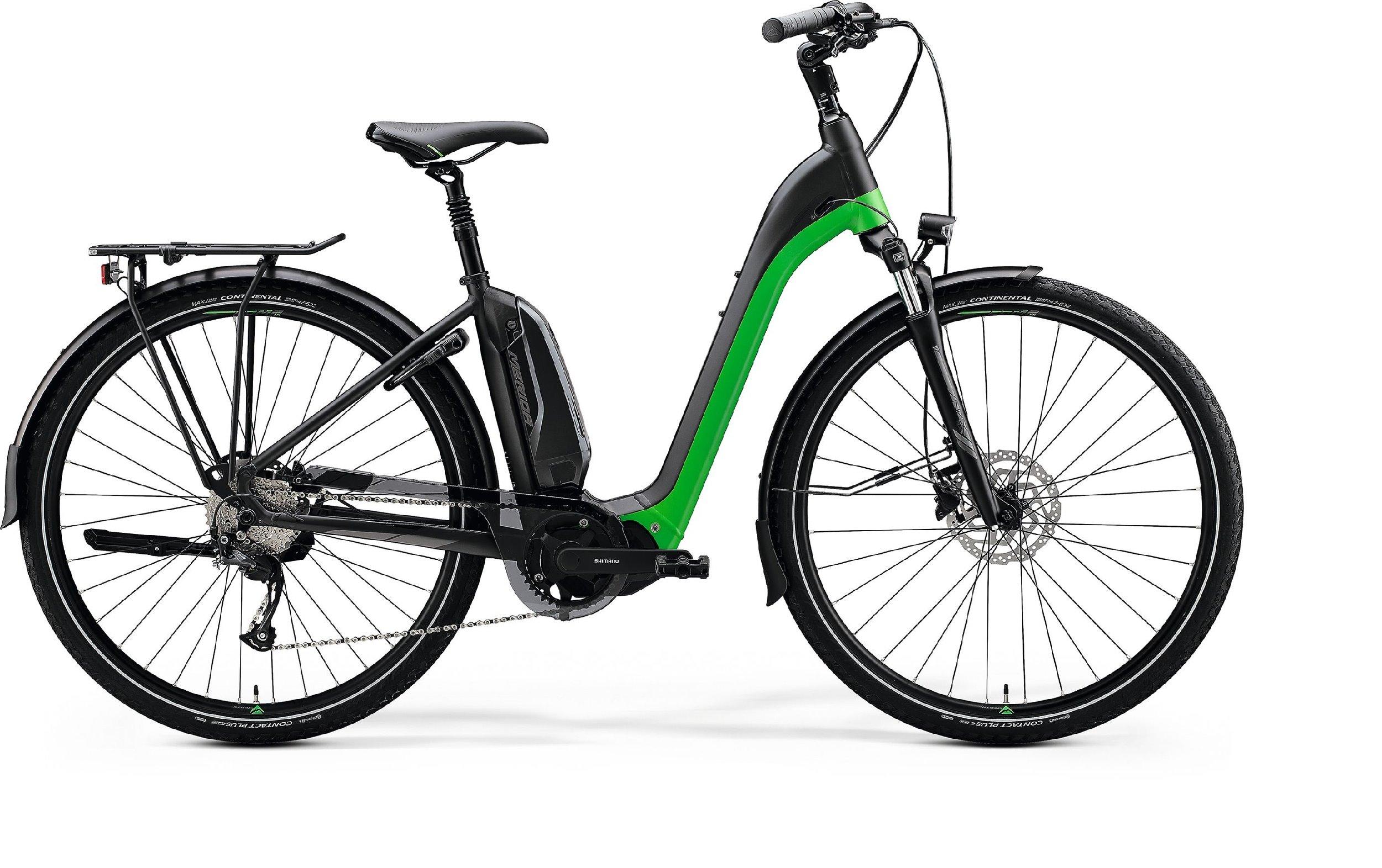 Merida eSPRESSO CITY 200 EQ černé/zelené (180-190 cm)
