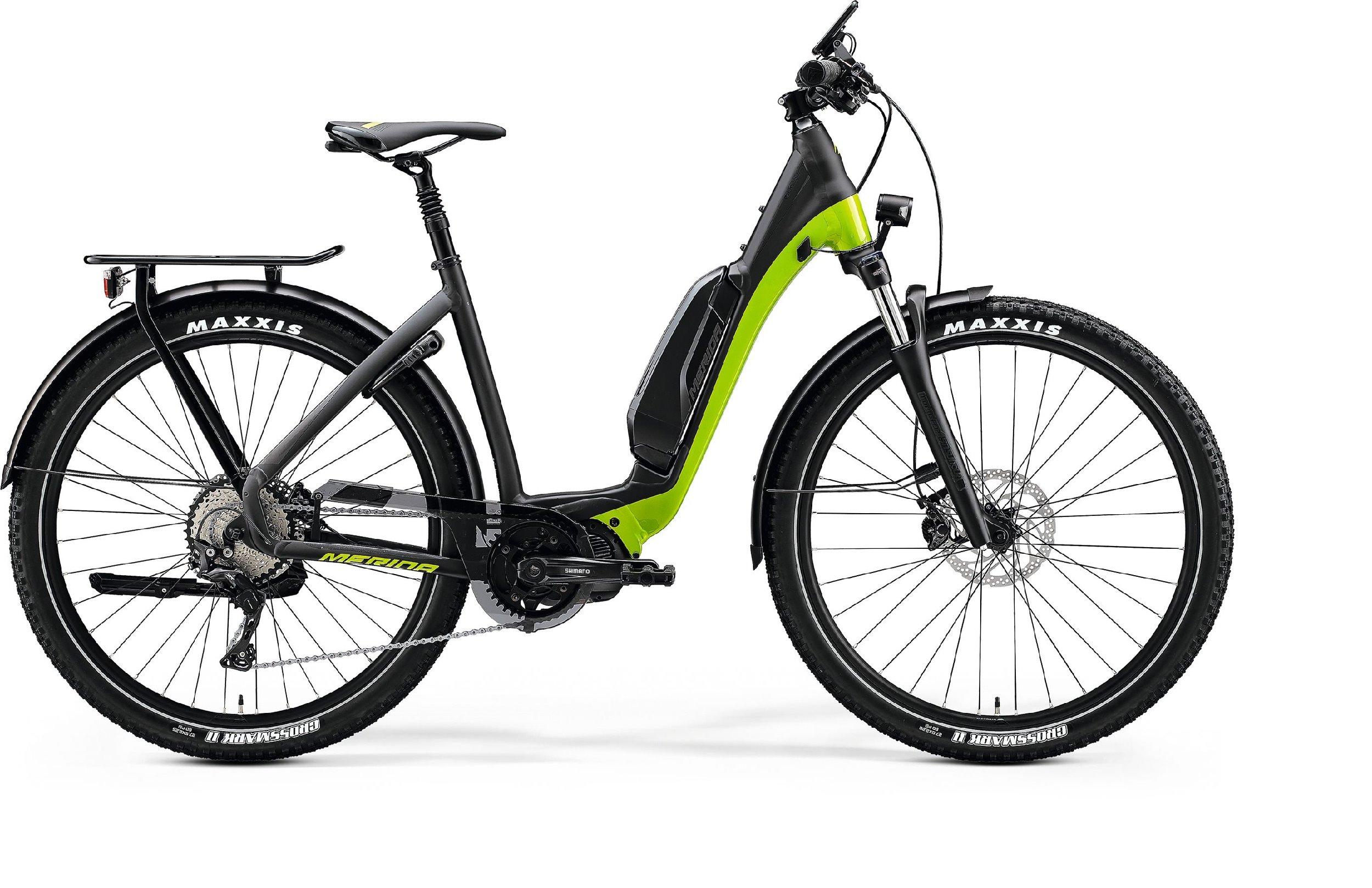 Merida eSPRESSO CC XT-EDITION EQ černé/zelené 155-165cm