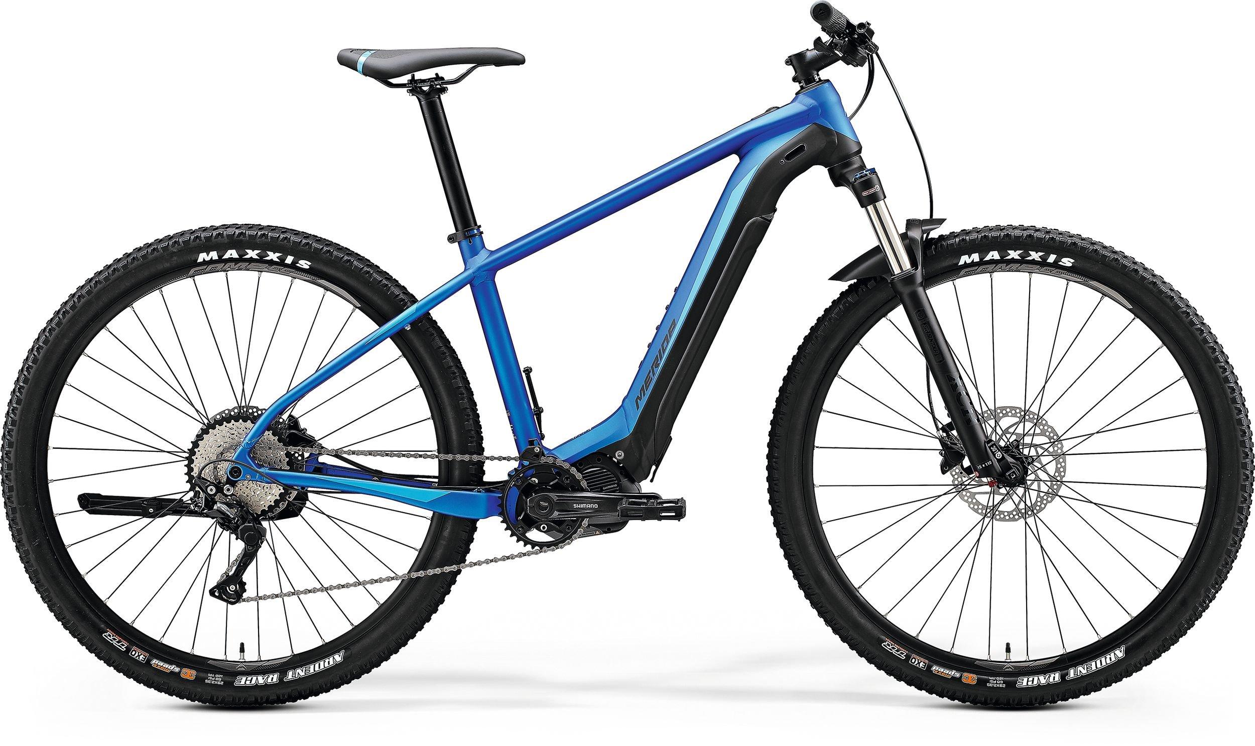Merida eBIG.NINE 400 modré/černé (175-190 cm)