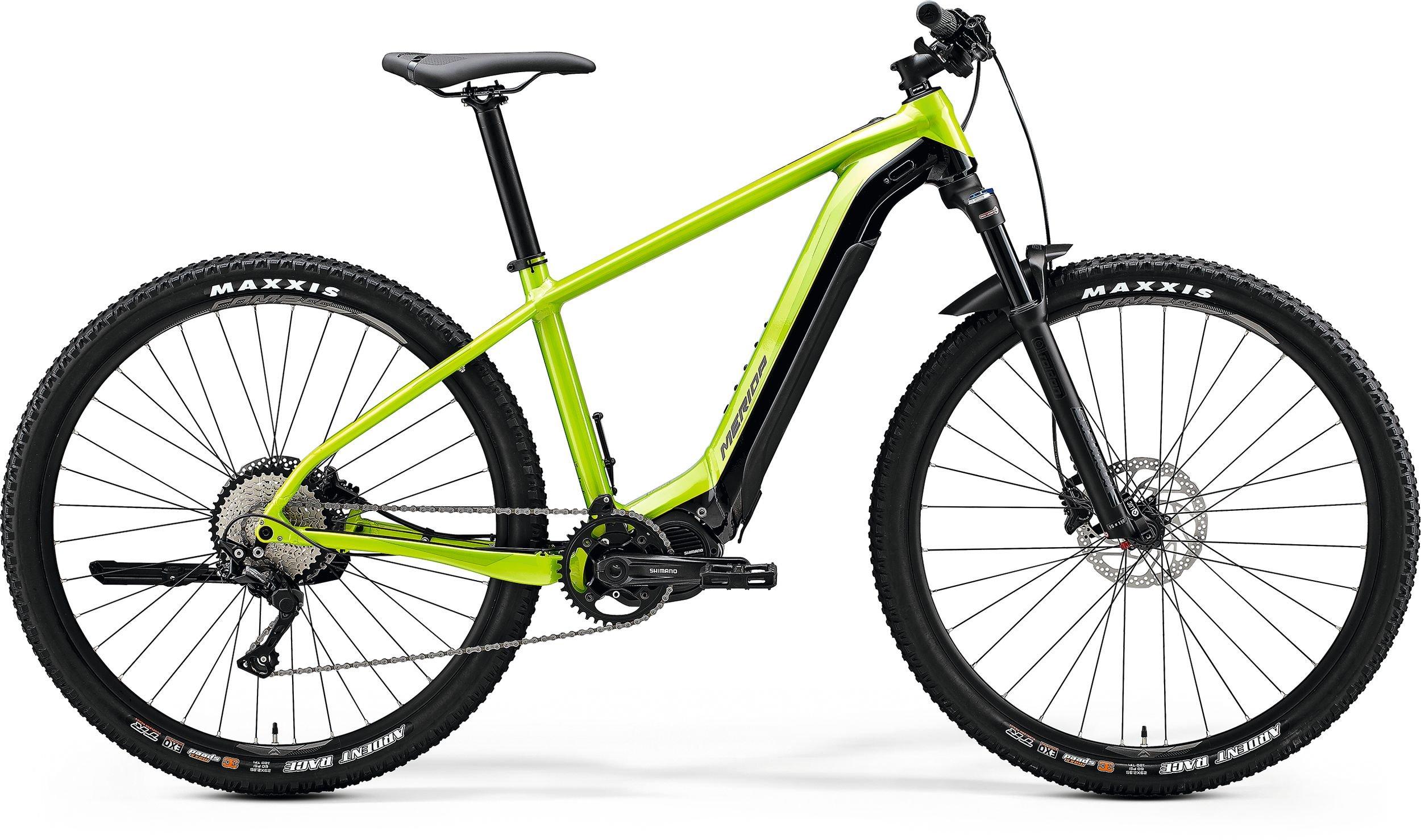 eBIG.NINE 600 Glossy Green/Black XL(53)