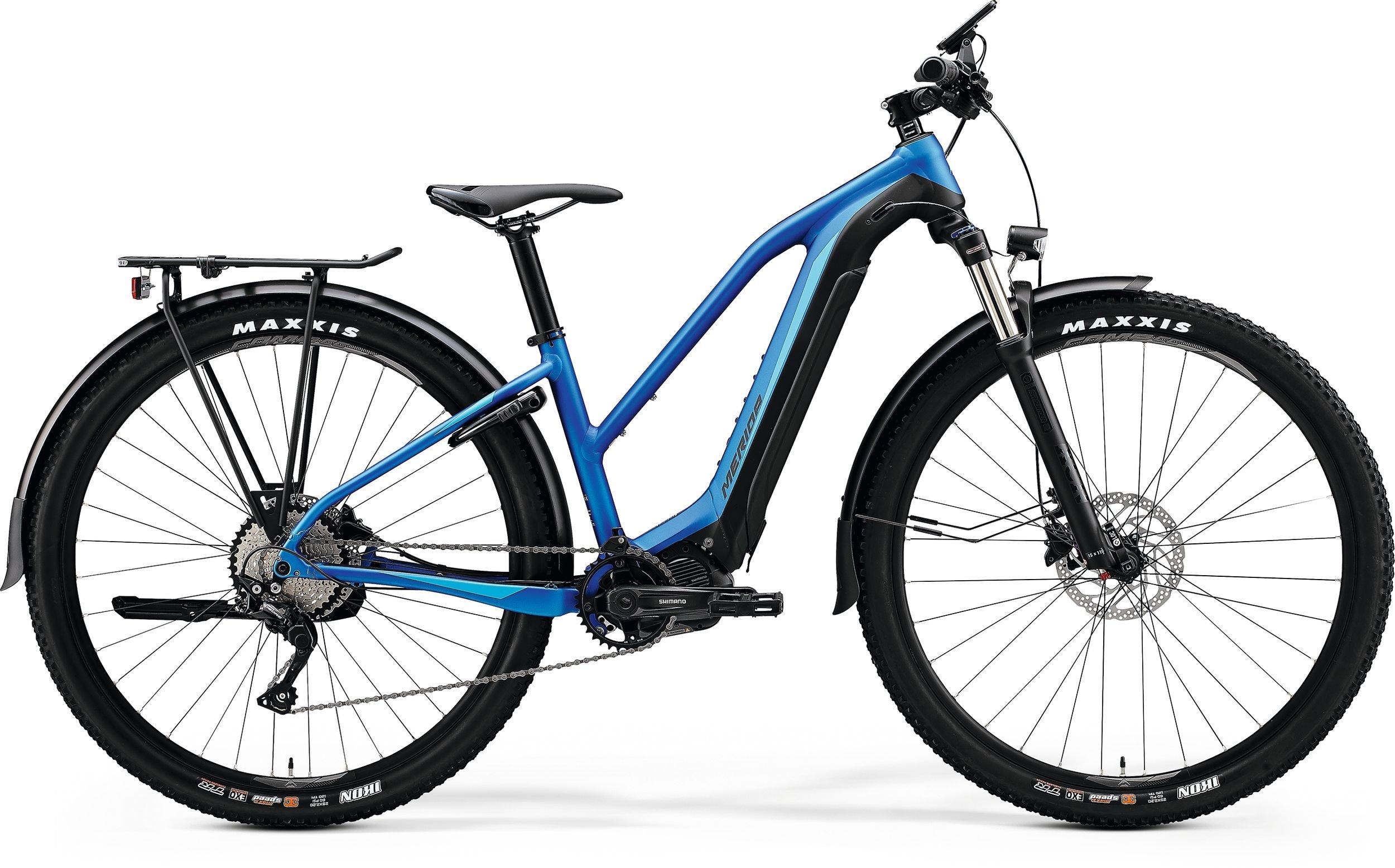 Merida eBIG.TOUR 400 EQ modré/černé 175-190cm