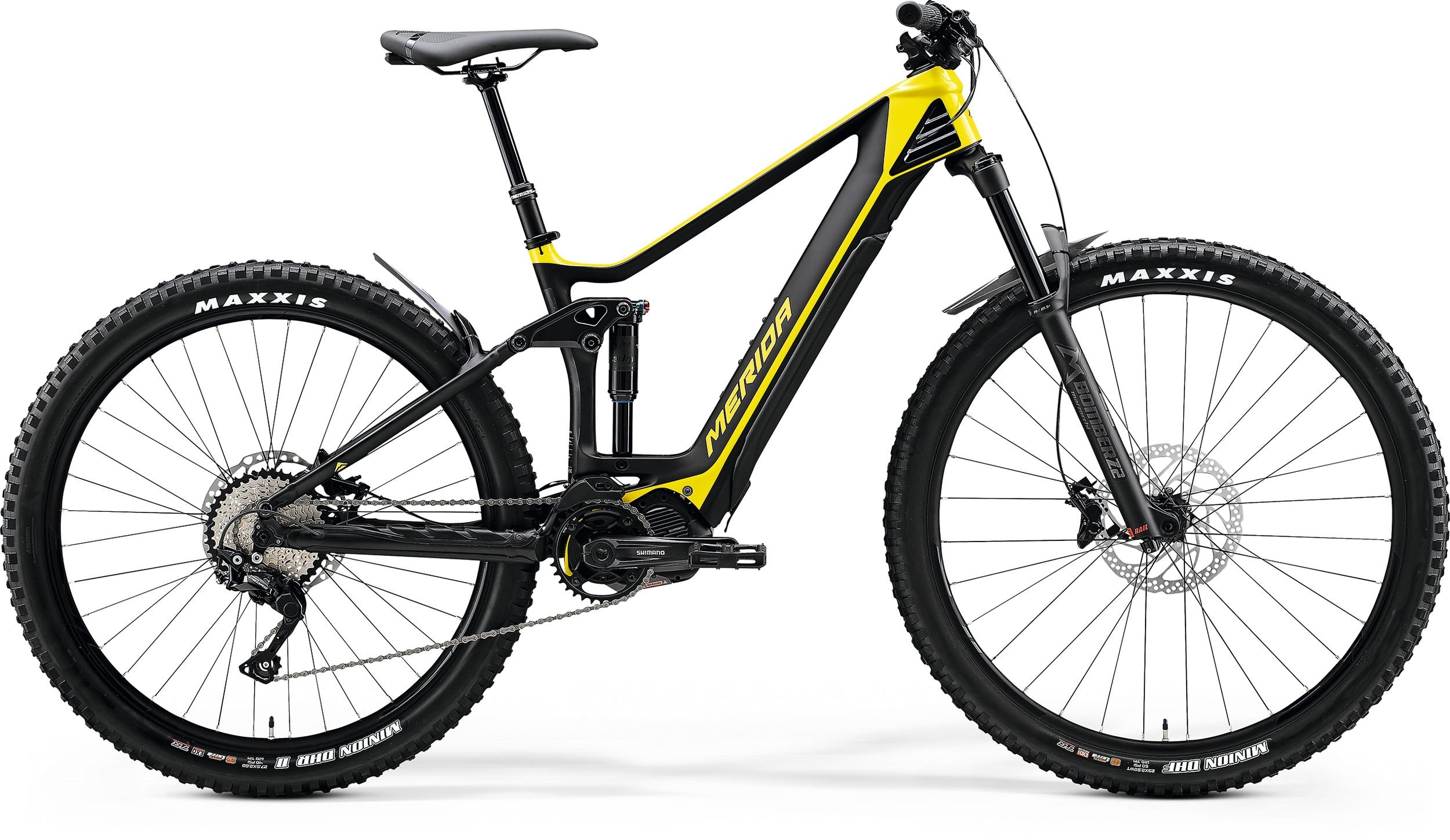 Merida eONE-FORTY 5000 Glossy Bright Yellow/Matt Black 180-195cm