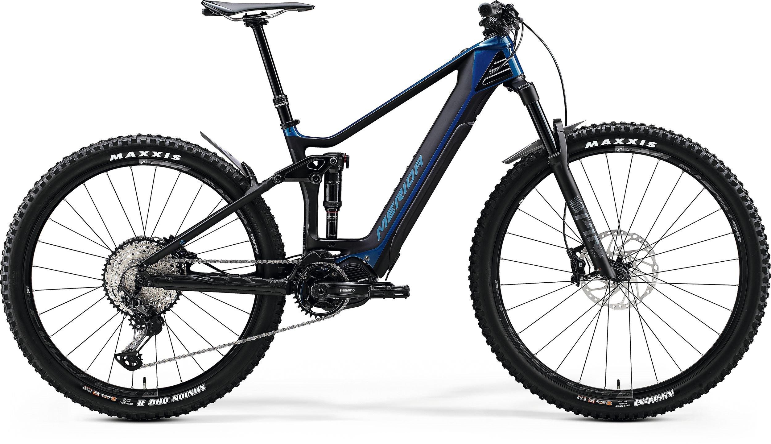 Merida eONE-FORTY 8000 modré/černé (>205 cm)
