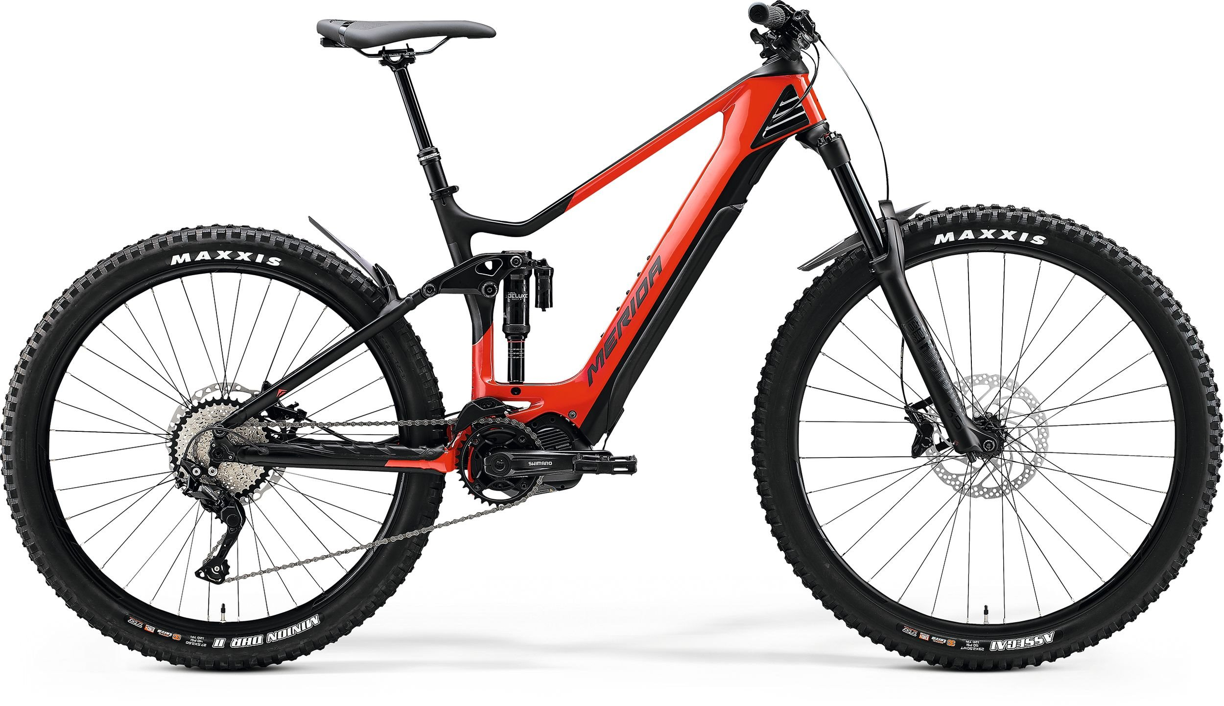 Merida eONE-SIXTY 5000 Glossy Race Red/Matt Black 165-180cm