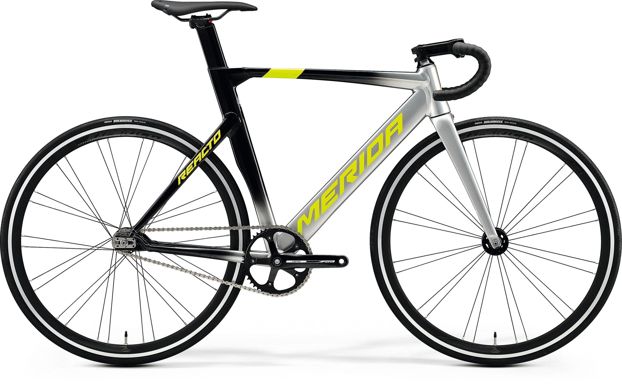 Merida REACTO TRACK 500 stříbrné/černé/žluté (165-170 cm)