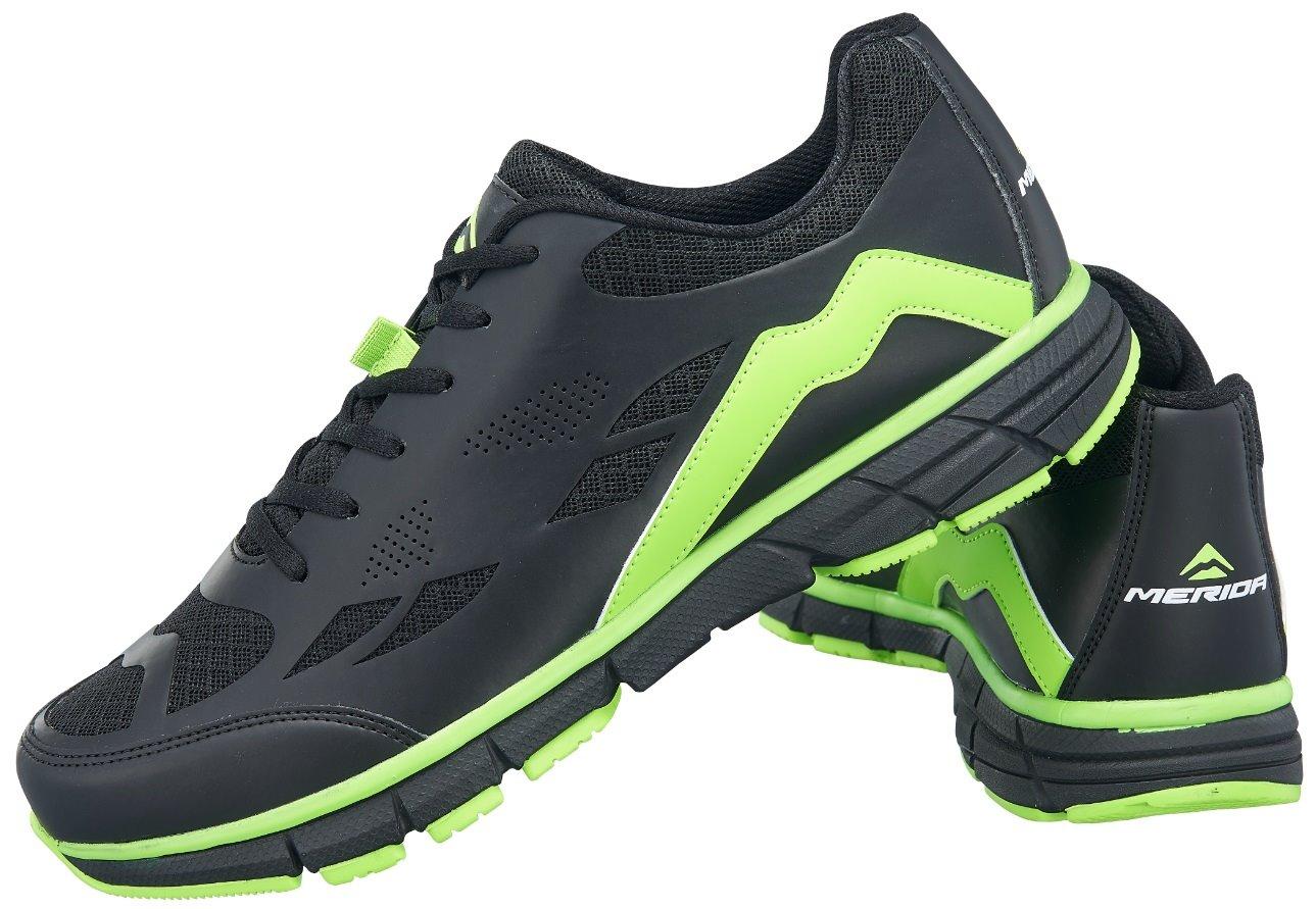 Tretry COMP TR černo/zelené 46