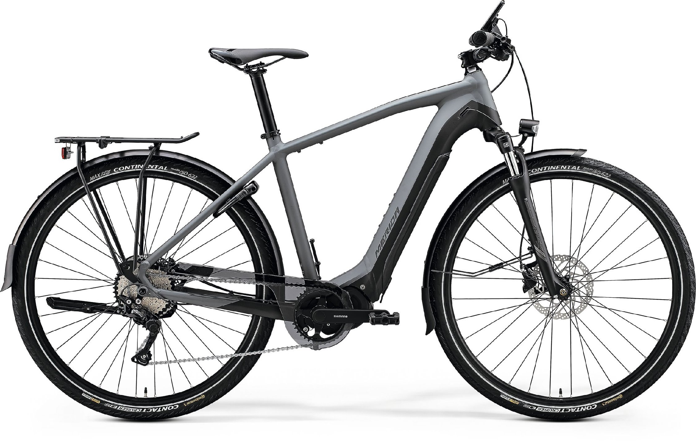 Merida eSPRESSO 400 EQ šedé/černé (>190 cm)
