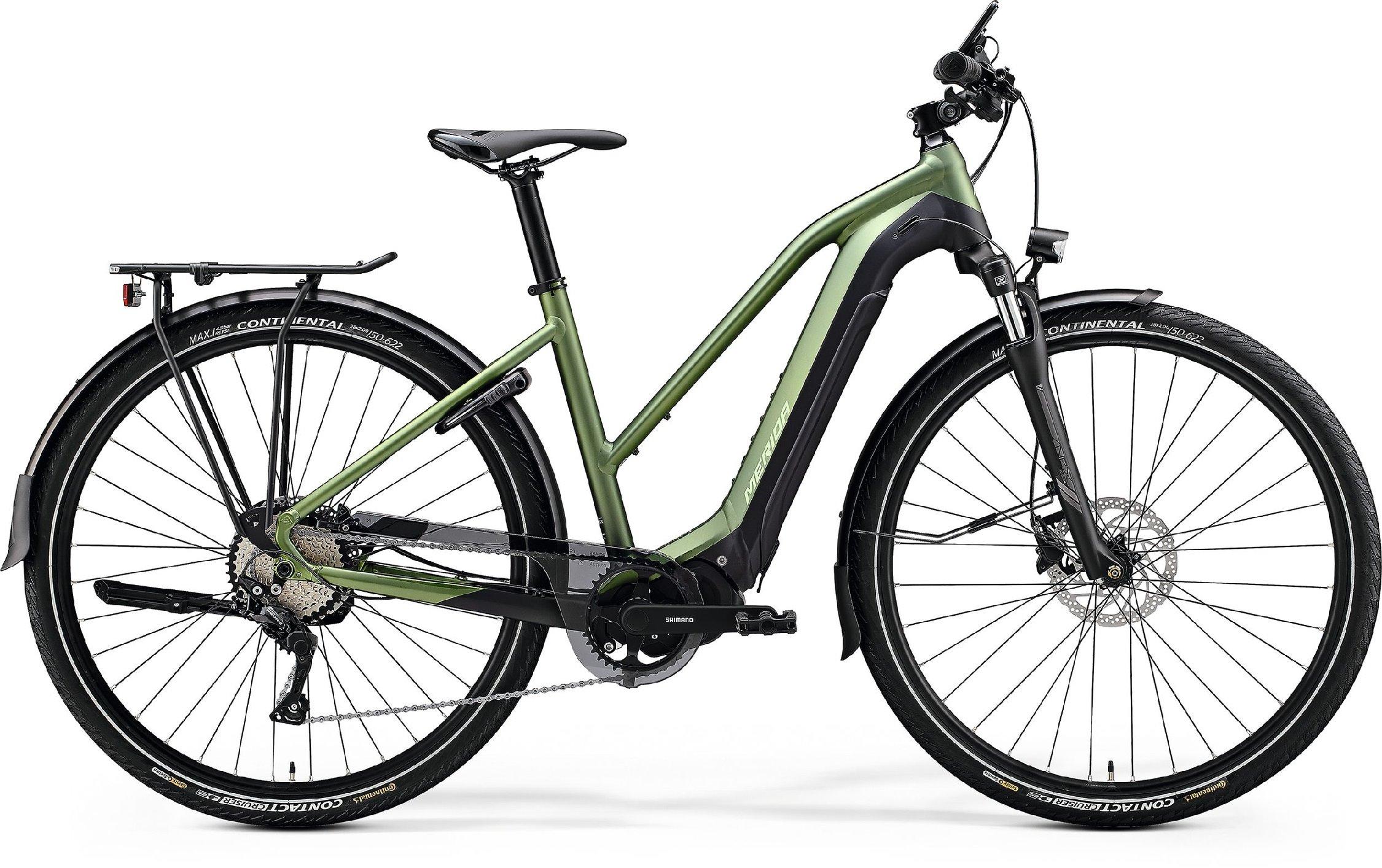 Merida eSPRESSO 400 EQ Lady zelené/černé (180-190 cm)