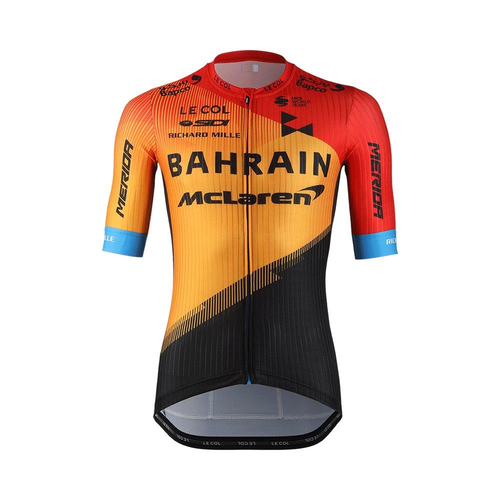 Bahrain McLaren - Dres krátký TEAM AIR oranžovo/černý  XL