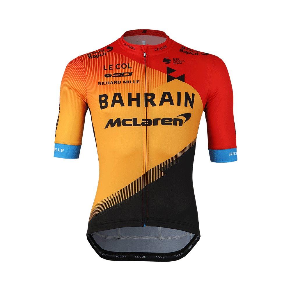 Bahrain McLaren - Dres krátký TEAM SPORT oranžovo/černý  XL