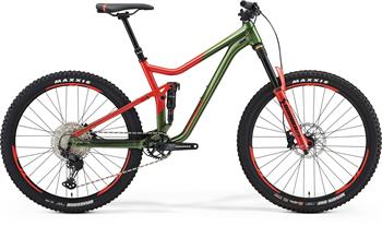 Merida ONE-FORTY 700 zelené/červené (185-195 cm)