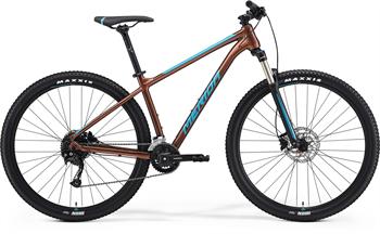 Merida BIG.NINE 100-2X bronzové/modré (177-190 cm)