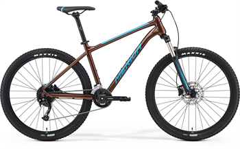 Merida BIG.SEVEN 100-2X bronzové/modré (<155 cm)