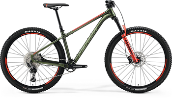 Merida BIG.TRAIL 600 oliv/červené (165-180 cm)