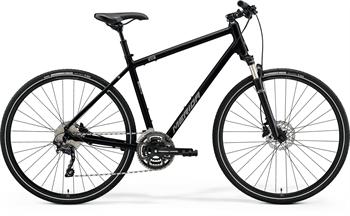 Merida CROSSWAY 300 černé/stříbrné (161-180 cm)