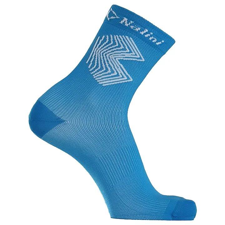 MERIDA - Bahrain Victorious - Ponožky TEAM modré L/XL