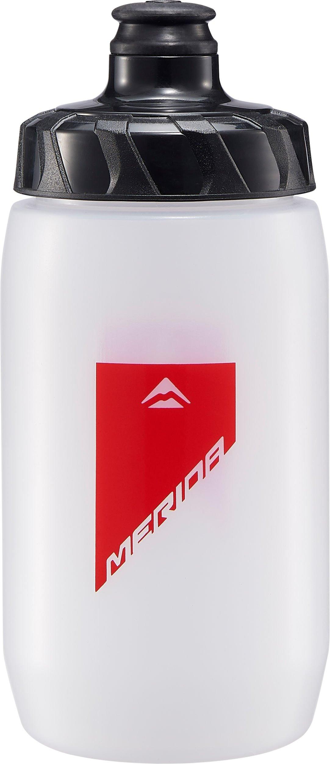 MERIDA - Lahev  994  transparentní-červená  ( 500ml s odmont. krytkou )