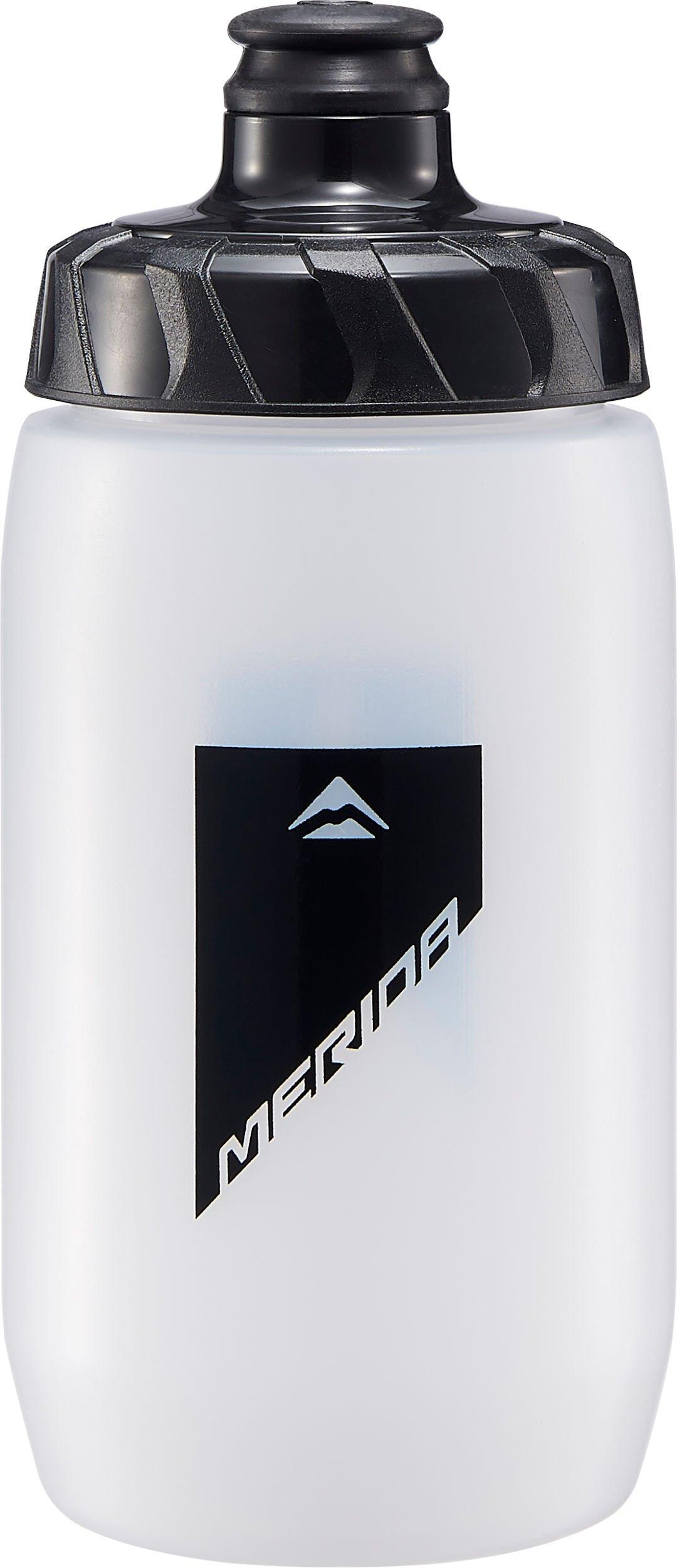 MERIDA - Lahev  058  transparentní-černá  ( 500ml s odmont. krytkou )