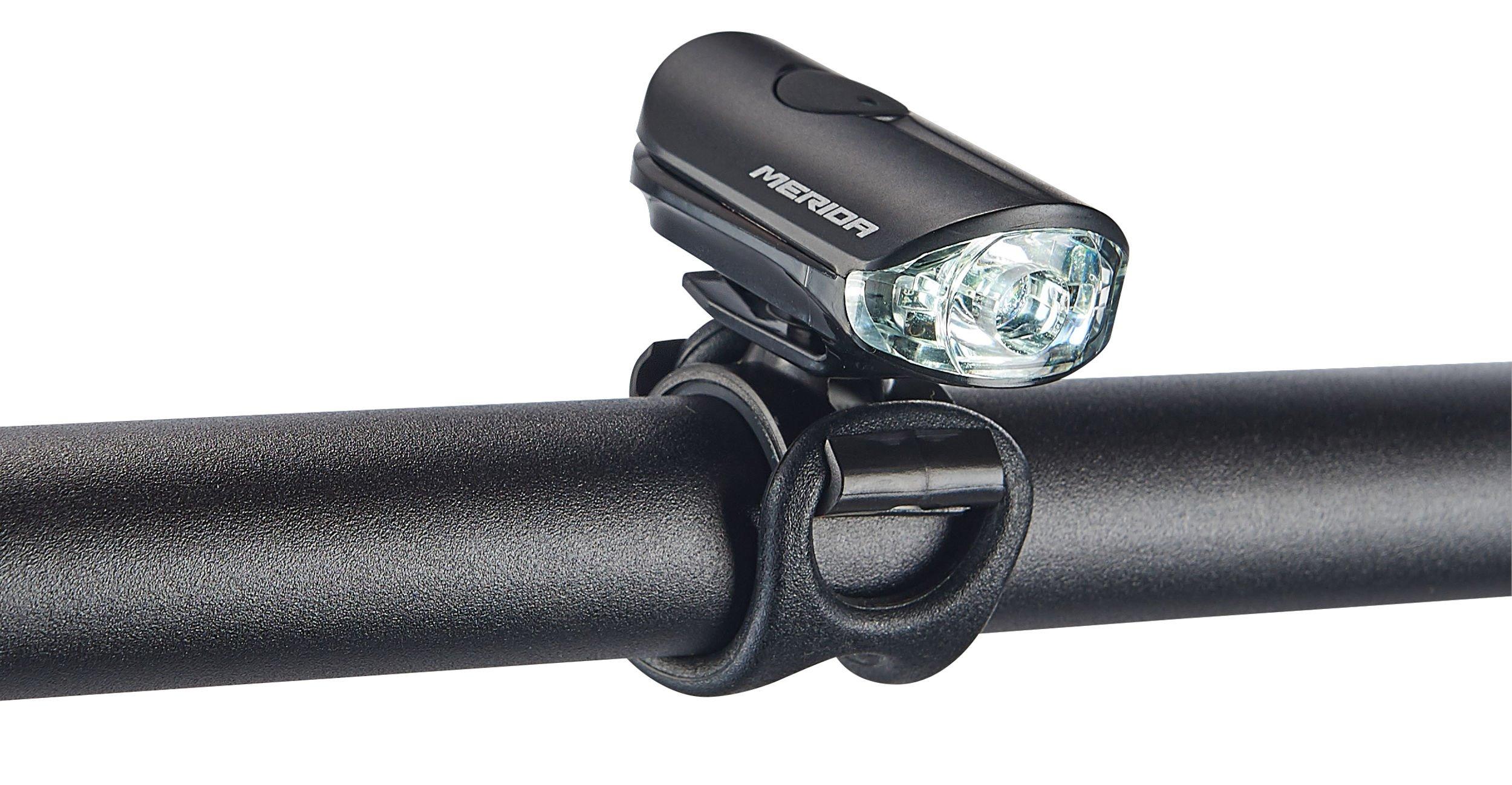 MERIDA - Světlo přední Super Bright  USB 897  černé