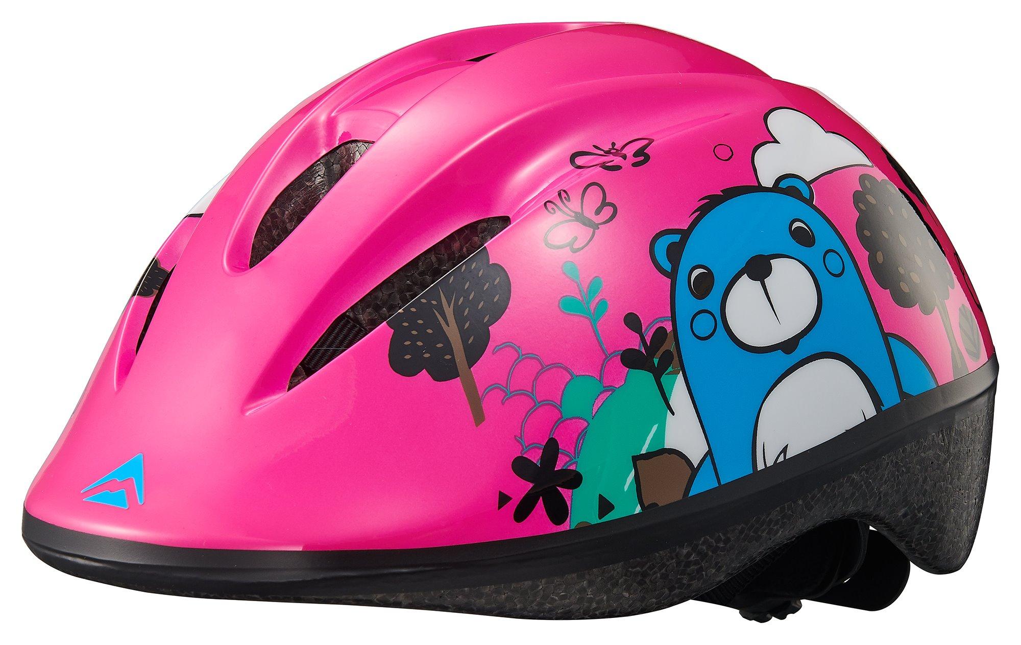 MERIDA - Přilba dětská BEAR pink/light blue 47-53cm