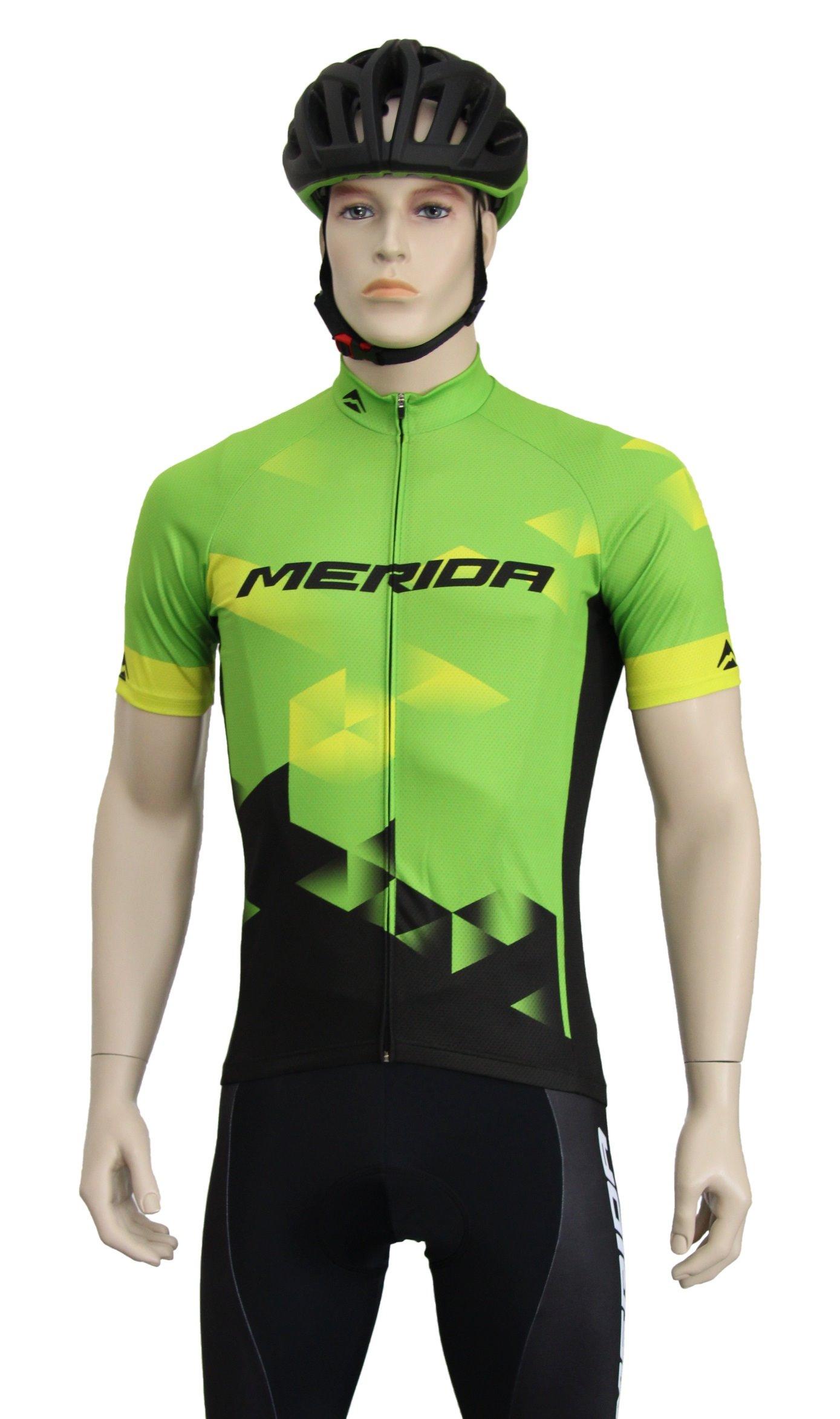 MERIDA - Dres pánský SPORT zeleno-žluto-černý S