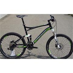 "ONE-TWENTY XT EDITION silk black/green (white) 22"" - BAZAR"