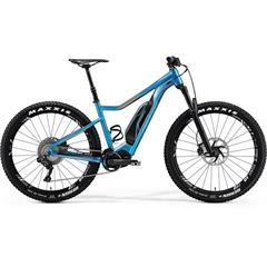 eBIG.TRAIL 900E Shiny Dark Silver / Blue