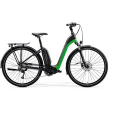 eSPRESSO CITY 200 EQ  Matt Black/Green(Glossy Dark Silver)