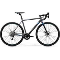 MISSION CX 400 Matt Silver(Blue)